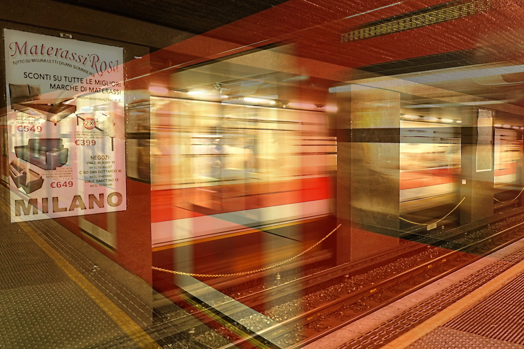 Metro milanese | Karlsruher Fotosalon
